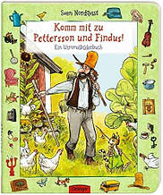 Komm mit zu Pettersson und Findus.Ein Wimmelbilderbuch. Sven Nordqvist