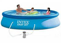 Надувной бассейн Intex 28142 (366 - 84 СМ)