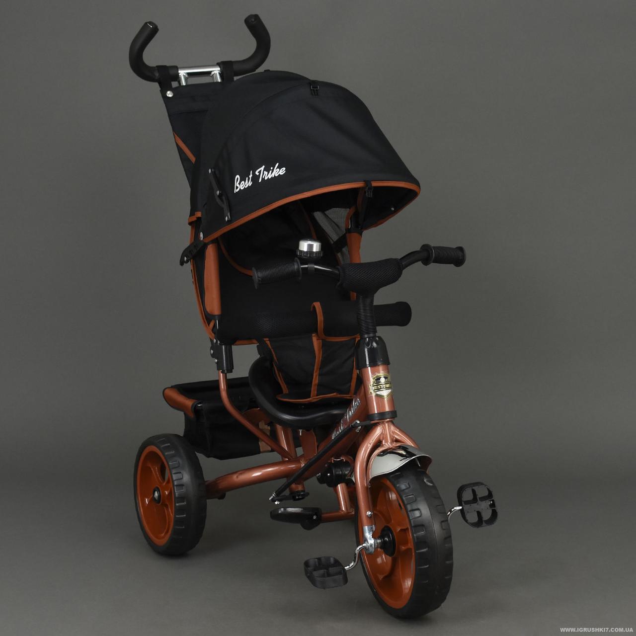 Велосипед трехколесный Best Trike 6570, бронзовый