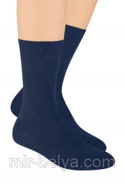 Синее мужские носки Steven