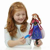Лялька Ганна Холодне серце Чарівний плащ Frozen Anna Magical Story Cape