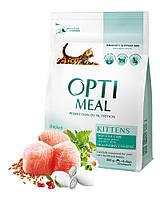 Сухой корм Optimeal для котят с курицей 0,3кг