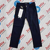 Штани сині котонові для хлопчика підлітка F&D, фото 1