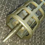 Кормушка фидерная 2* 1.    вес 60 грамм, фото 2