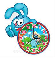 Часы крош фигурные из акрила мультяшные