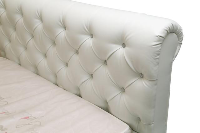 Кровать двуспальная Лондон (изголовье с Барашком)