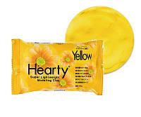 Глина Харти Hearty 50г, желтая. 2017г, фото 1