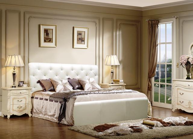 Кровать двуспальная Лондон в интерьере.
