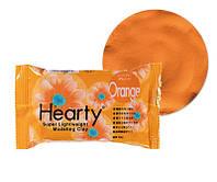 Hearty 50г глина для лепки цветов, оранжевый. 2017г