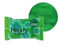 Глина Hearty 50г, зеленый. 2017г, фото 1