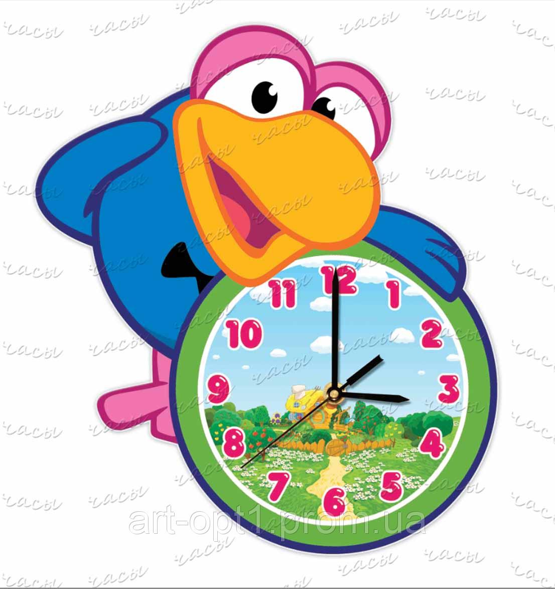 Часы смешарики акриловые детская тематика мультипликационные