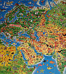 Детская карта мира, фото 2