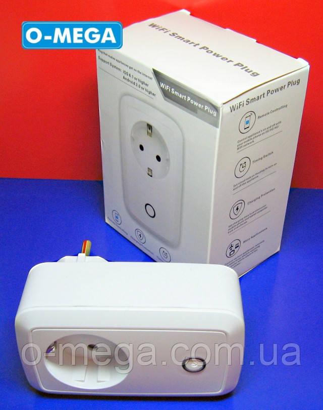 Умная розетка с Wi-fi управлением Smart Power Plug с таймером