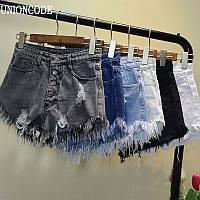 Шорты джинсовые W41