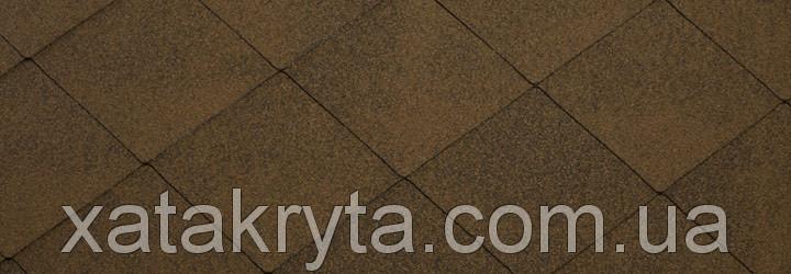 Битумная черепица катепал katepal foxi коричневый - ТОВ Хата Крита в Харькове