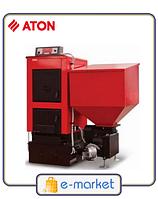 Котел твердотопливный с автоматической подачей топлива  ATON ТТК ECOMATIC 15-25