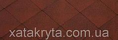 Битумная черепица катепал katepal foxi красный