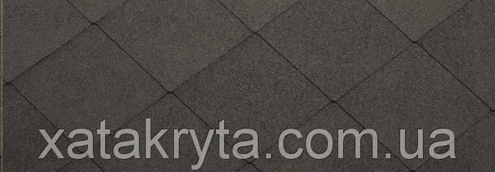 Битумная черепица катепал katepal foxi темно серый, фото 2