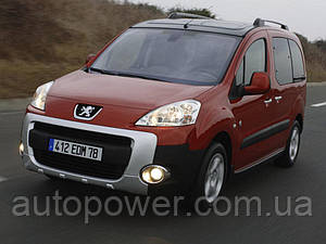 Фаркоп Peugeot Partner (L=4380) (кроме макси базы) 2008-
