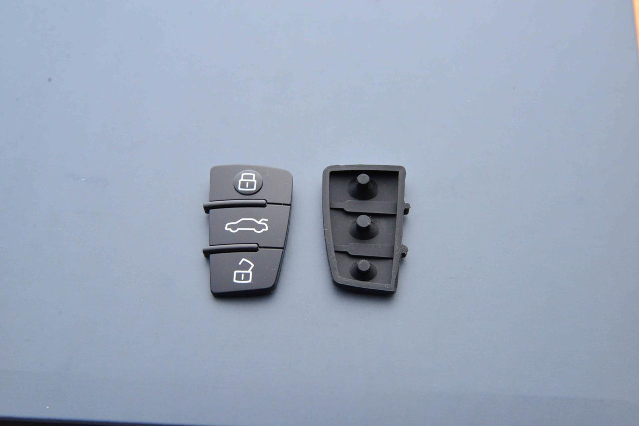 Кнопки выкидного авто ключа для Audi А1, А3, А4, А6, Q7 (Ауди А1, А3,