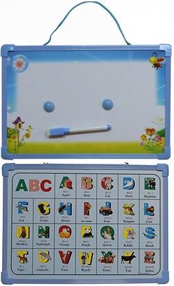 Доска магнитно-маркерная сухостираемая детская с английским алфавитом (20*30см)