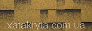 Битумная черепица катепал katepal rocky золотой песок, фото 2