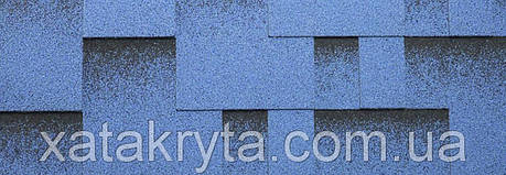 Битумная черепица катепал katepal rocky голубая лагуна, фото 2