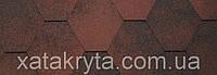 Битумная черепица катепал katepal jazzy красный