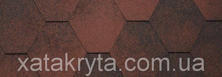 Битумная черепица катепал katepal jazzy красный, фото 2