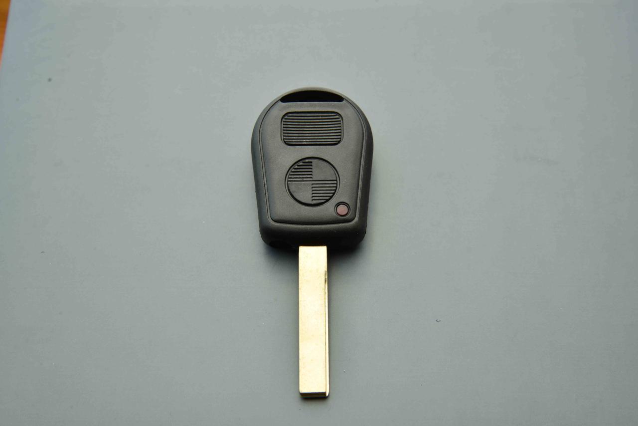 Корпус авто ключа для BMW E34 (БМВ) 2 кнопки, лезвие HU92