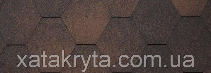 Битумная черепица катепал katepal jazzy коричневый, фото 2