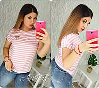 Женская летняя футболка 9 цветовых вариантов