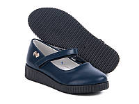 Туфли школьные на девочку  (30-36)  Башили