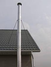 Дымоходная труба из нержавейки 0,5 метра AISI 304, фото 2