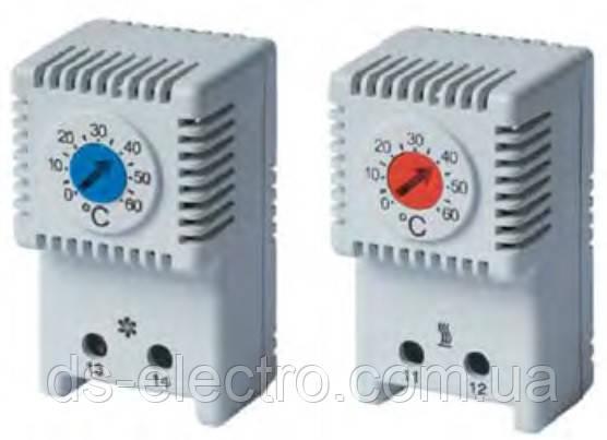 Термостат, NC контакт, 0-60°C, DKC, RAM klima