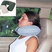 Подушка надувная, подголовник, для путешествий, для автомобиля,  67006