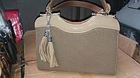 Женская сумка с украшением