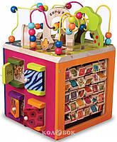 Развивающая деревянная игрушка Battat - Зоо-куб