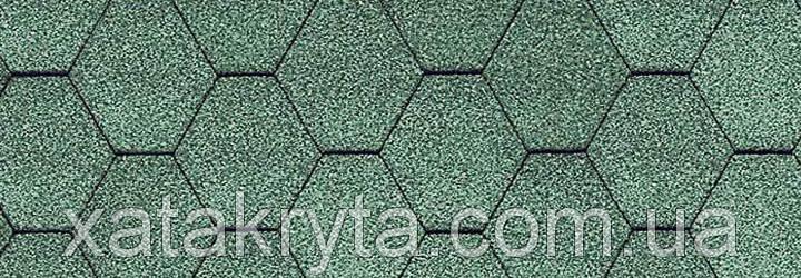 Битумная черепица катепал katepal kl зеленый, фото 2