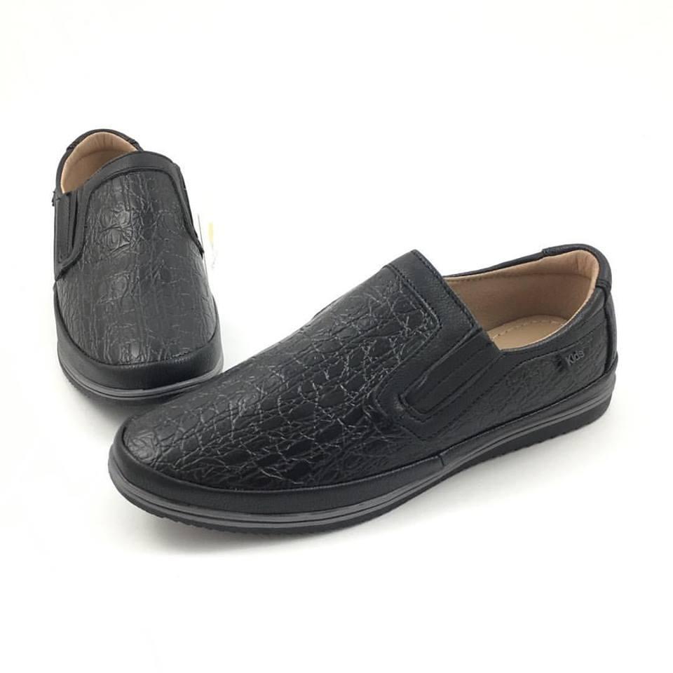 Школьные туфли для мальчика Tom.m, черный (р.34,35,37,38)