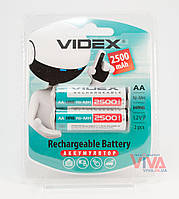Аккумуляторы Videx AA 2500 mAh (HR6, Ni-MH)