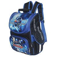 Рюкзак-трансформер для мальчиков младших классов Winner Stile, синий