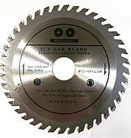 Пильный диск по дереву,с победитовыми напайками ИНТЕРКРАФТ, 115x22.2x24