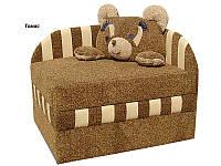 "Детский диван ""Панда"" 190х84х75 см. С подушкой, Ткань на выбор"