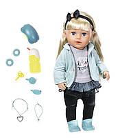 Кукла BABY BORN СЕСТРЁНКА-МОДНИЦА 43 см, с аксессуарами Zapf (824245)
