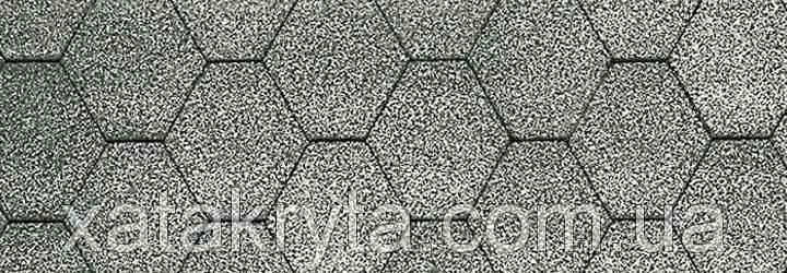 Битумная черепица катепал katepal kl серый, фото 2