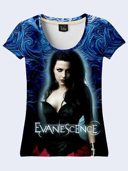 Женская футболка Еvanescence