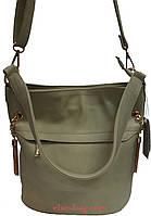 Женская сумочка с кокеткой , фото 1