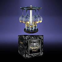 Барная стойка 12 предметов рисунок «Версаче»