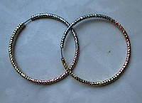 """Яркие  серьги-кольца   """"Конго"""" от студии LadyStyle.Biz, фото 1"""